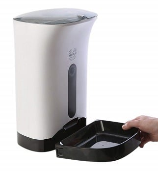Arf Pets Automatic Pet Feeder Food Dispenser for Dogs & Cats review