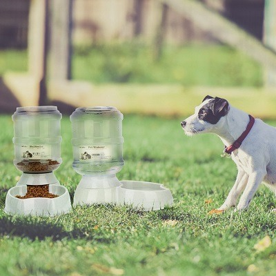 Automatic Food And Water Dispenser Feeder