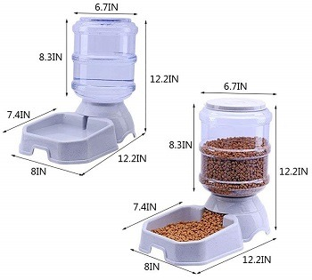 Chuanyue Automatic Pet Waterer Feeder review