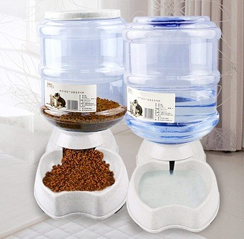 Meleg Otthon Automatic Pet Waterer and Feeder review