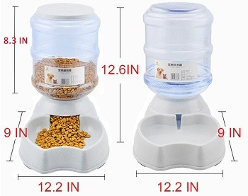 Meleg Otthon Automatic Pet Waterer and Feeder