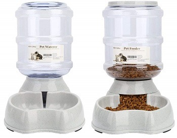 Best Automatic Pet Food And Water Dispenser For Cats In 2019