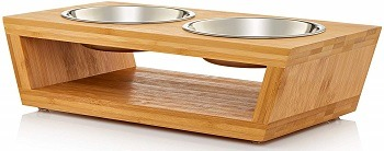 Pawfect Pets Premium Elevated Dog and Cat Pet Feeder