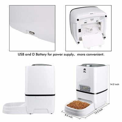 Tdynasty Design Automatic Cat Feeder Review Pet Feeder Tips