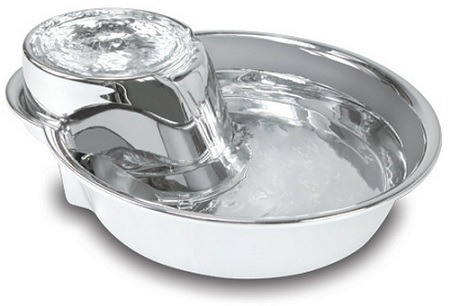 Automatic Dog Water Bowl Stainless Steel