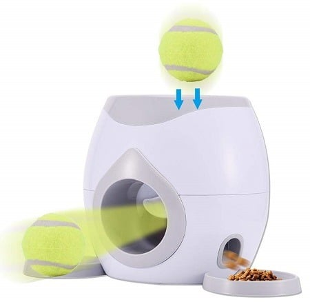 Automatic Pet Treat Dispenser For Puppies